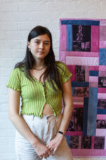 This image shows artist Holly Chang